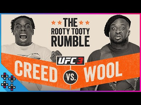 UFC 3: BIG E vs. AUSTIN CREED - THE ROOTY TOOTY RUMBLE! - Gamer Gauntlet