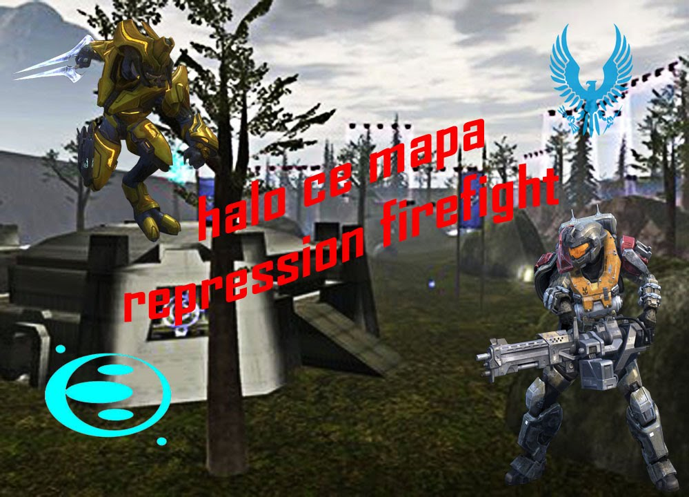 Halo ce nuevo mapa repression firefight youtube for Halo ce portent 2 firefight