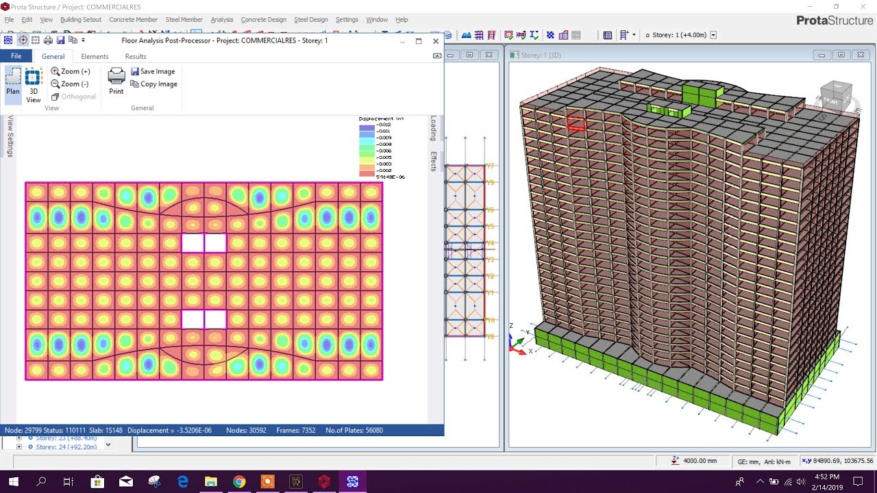 DESIGN & DETAILING IN PROTA STRUCTURE WITH SEISMIC & WIND LOADING by DECODE  BD