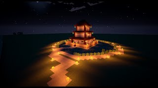 TUTO Temple Chinois Minecraft