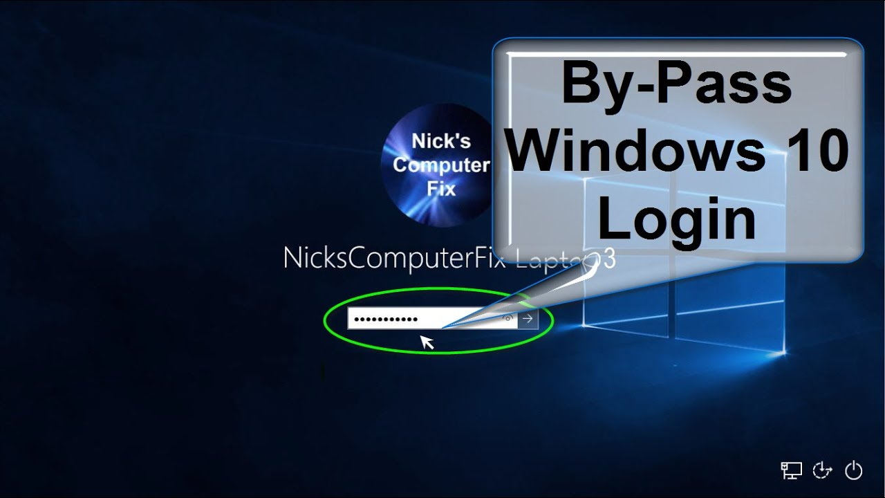 find windows 10 password when logged in