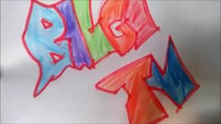 Bilgi TV düşük amatör şekilde graffiti yapımı/GRAFFİTİ/BİLGİ TV/KALEM/AMATÖR/SANAT