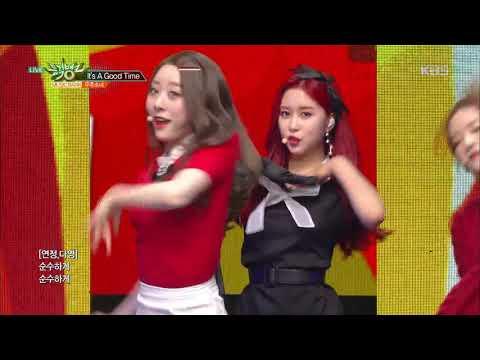 뮤직뱅크 Music Bank - It's A Good Time - 우주소녀.20181130