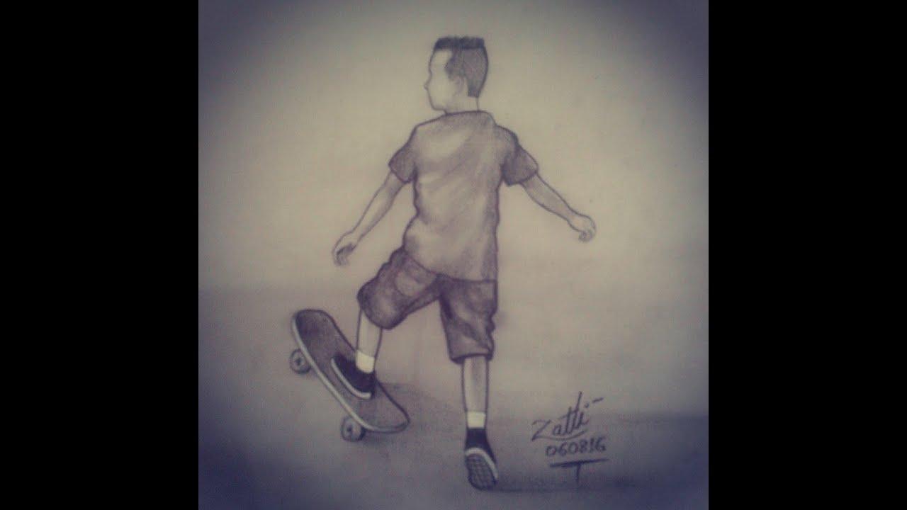 o skatista lÉo desenho youtube