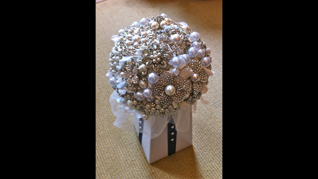 1 Best How To DIY Brooch Bouquet Tutorial Part 1 - YouTube