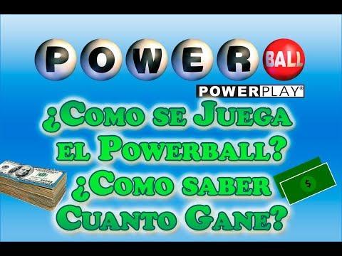 Como Se Juega El Powerball? Como Saber Cuanto Gane En El Powerball? - Powerball En Español
