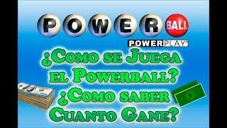 Gambar cover Como se Juega el Powerball? Como saber cuanto gane en el Powerball? - Powerball en Español
