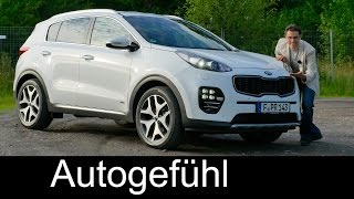 Kia Sportage GT FULL REVIEW test driven neu new gen - Autogefühl