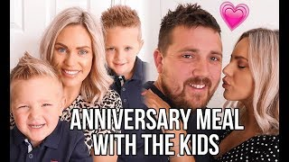 ANNIVERSARY MEAL WITH THE KIDS | WHAT WE ORDER WHEN EATING OUT | FAMILY OF FOUR AD