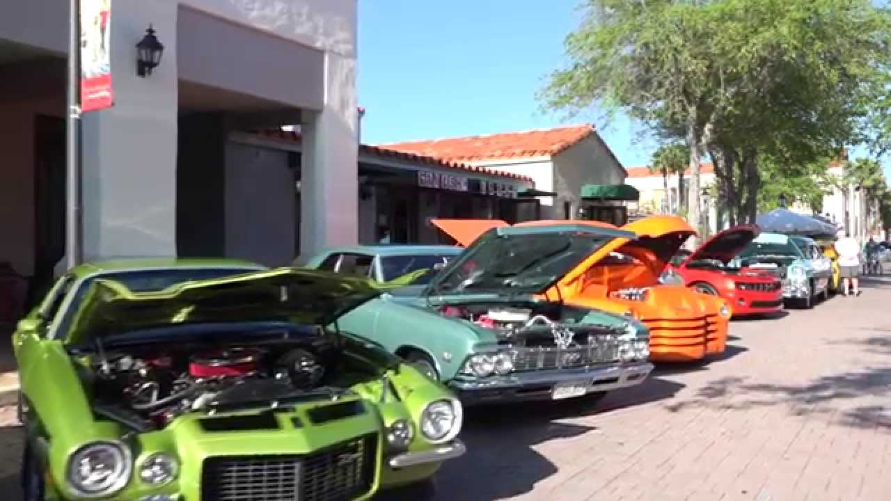 Solivita Muscle Car Show YouTube - Muscle car show