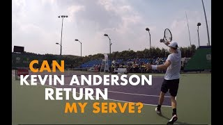 Training With Kevin Anderson (Return) - Part 3   Rolex Shanghai Masters 2018 (TENFITMEN)