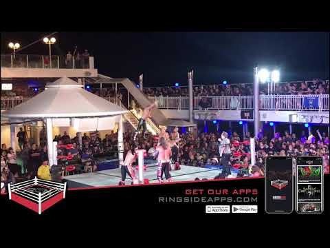 EXCLUSIVE: Complete ROH vs. Impact Match for Chris Jericho's Cruise