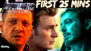Avengers: Endgame - First 25 Mins of the Movie in 5 Mins - FilmArtsy