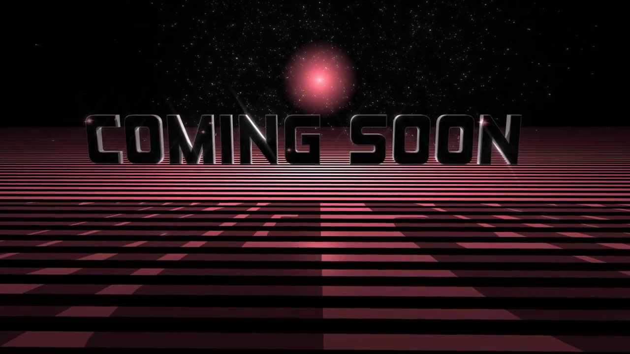 Great Coming Soon Text 3d And Background Animation Royalty