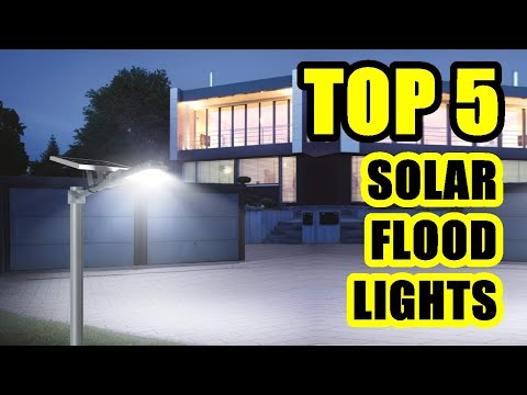 TOP 5: Best Solar Flood Light Outdoor on Amazon 2021 | for Deck, Fence, Yard, Driveway, Balcony