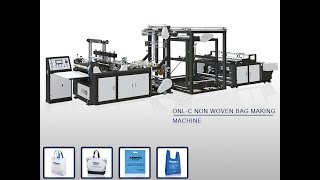 non woven t shirt bag making machine in India
