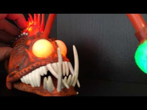 Disney pixar finding nemo anglerfish light up action for Angler fish toy