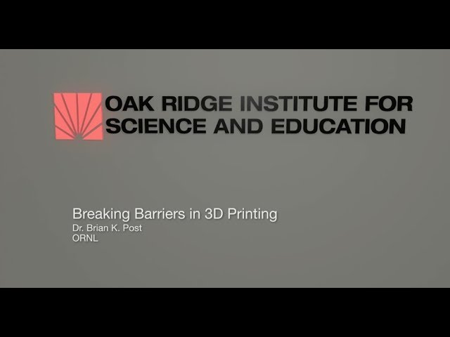 ORISE | Breaking Barriers in 3D printing