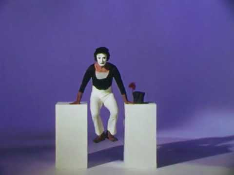 Marcel Marceau I Bip As A Skater 1975