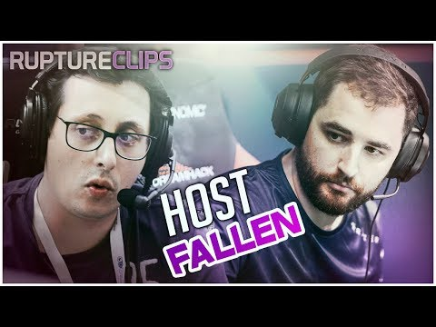 ZORLAK RECEBE HOST DO FALLEN