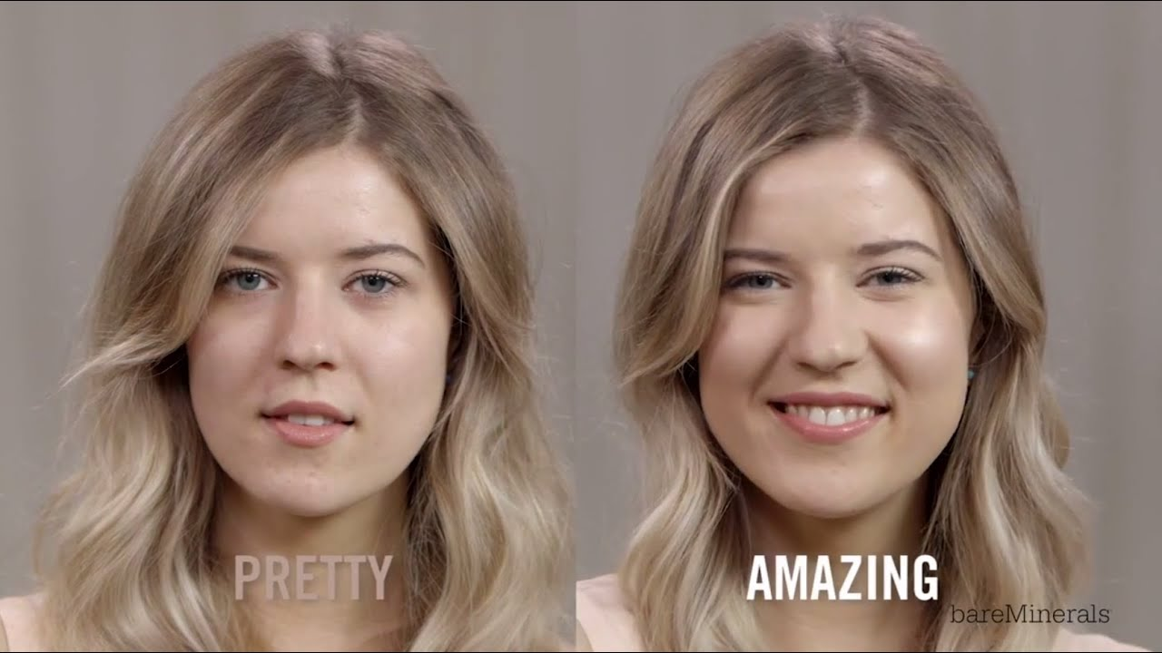 bare minerals before and after. bareminerals complexion rescue tutorial with meghan rienks | sephora - youtube bare minerals before and after