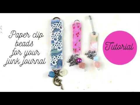 Tutorial - Paper Clip Beads