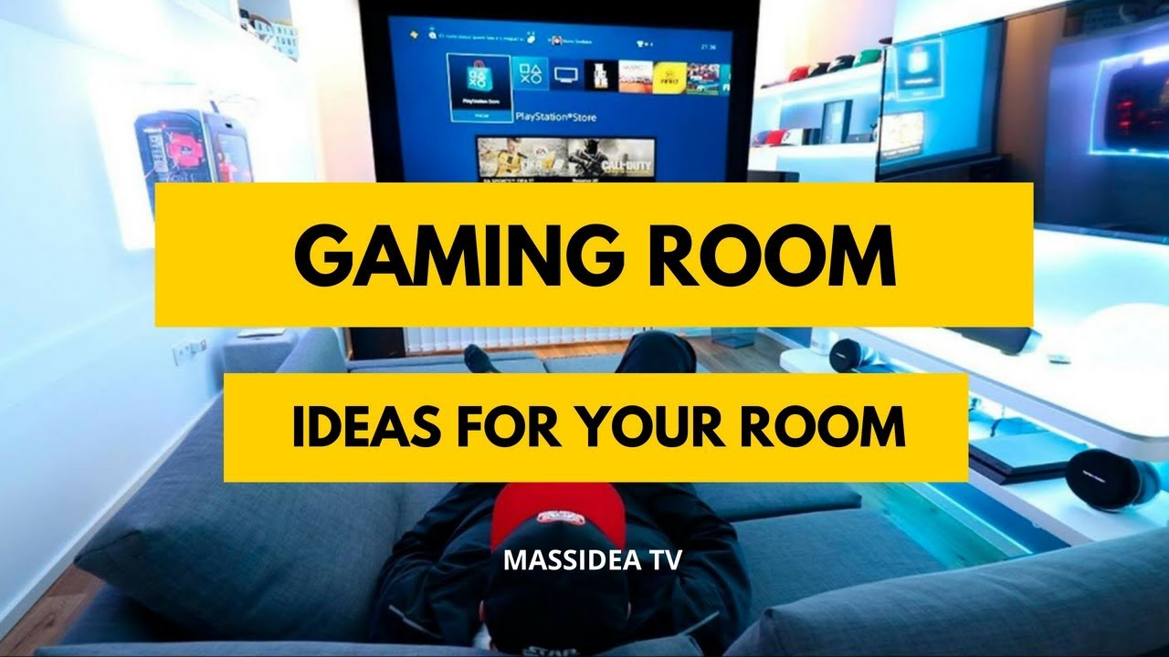 65 Amazing Gaming Room Ideas For Your Room Youtube