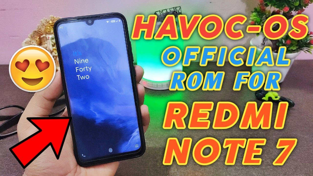HavocOS 2 6 Official for Redmi Note 7 | Lavender | Full Customization ROM  for Redmi Note 7 | Smooth