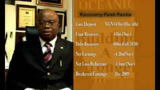 John Aboh, CEO, Oceanic Bank, Speaks on Q3 2009 Results and Turnaround - December 2009