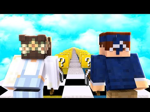 Lucky Block Race in der Pocket Edition!