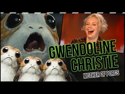 Gwendoline Christie wants to be the mother of porgs in the new 'Star Wars' trilogy