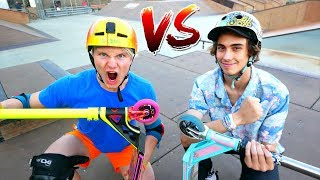 EXTREME GAME OF SCOOT! Will Cashion VS Claudius Vertesi