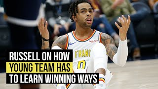 Russell says it takes time for young team to learn how to win