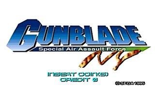 GunBlade NY (Arcade/Sega/1995) [720p]