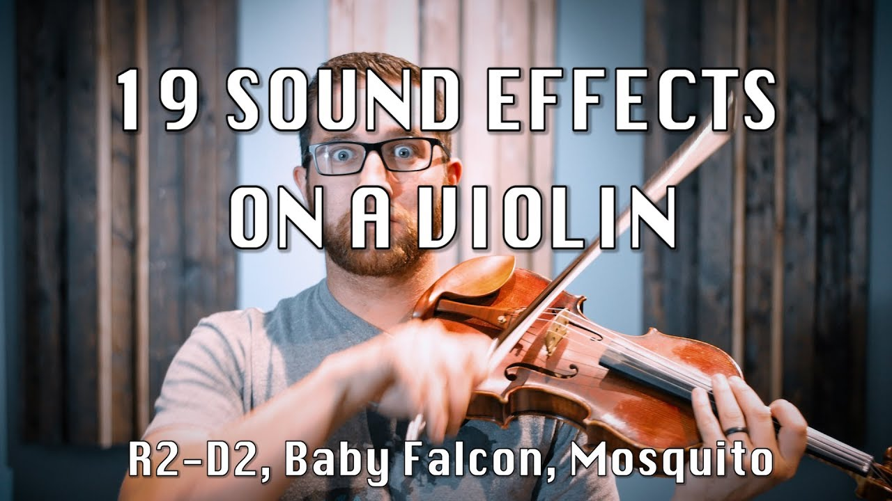 19 crazy sound effects on a violin with daniel blair youtube. Black Bedroom Furniture Sets. Home Design Ideas