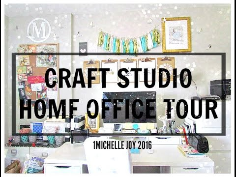CRAFT ROOM  X HOME OFFICE TOUR 2016- 1MICHELLEJOY