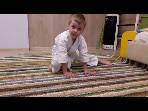 каратэ киокушинкай домашняя разминка дети
