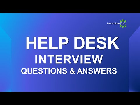Help Desk Interview Questions and Answers | Most Asked  IT Support / Help Desk Interview Questions |