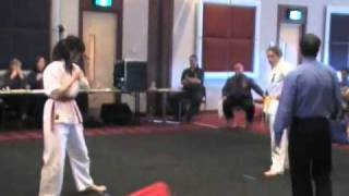 Women's Full-Contact Kyokushin Karate Competition - with Action Replay