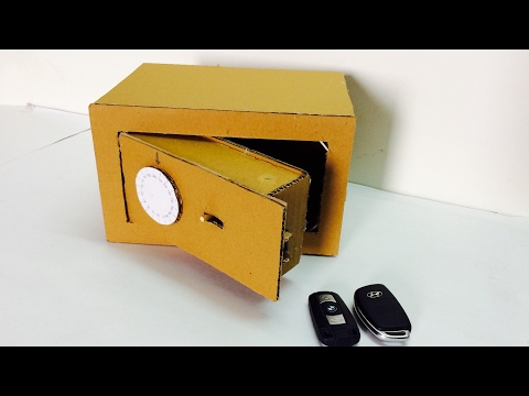 how-to-make-safe-with-combination-lock-from-cardboard