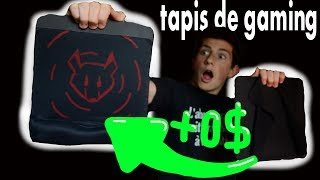 DIY TAPIS DE SOURIS GAMING