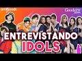 Entrevistando Idols K-Pop en Backstage de Weekly Idol