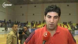 Ilie Ogen speak kurdish - zakho basketball club