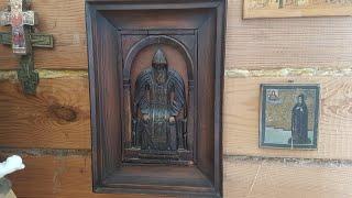 Обзор Деревянной Иконы НИЛ Столобенский