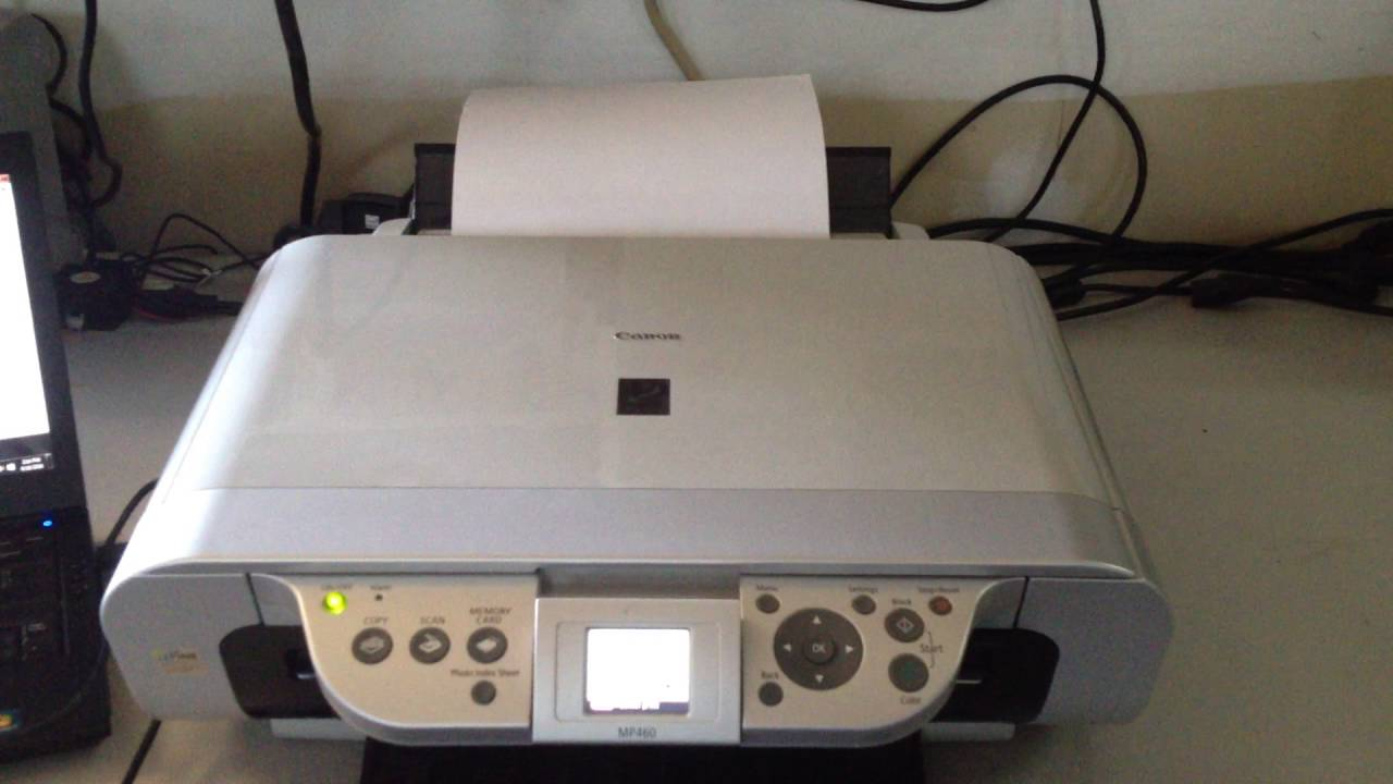 DRIVER: CANON MP460 PRINTER