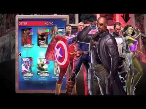 Marvel Puzzle Quest Google Play Trailer