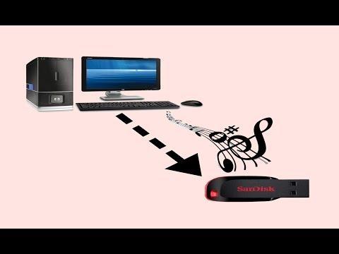 Como Passar Musicas do PC para o Pendrive!