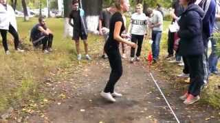 ГТО: Прыжки с места 1
