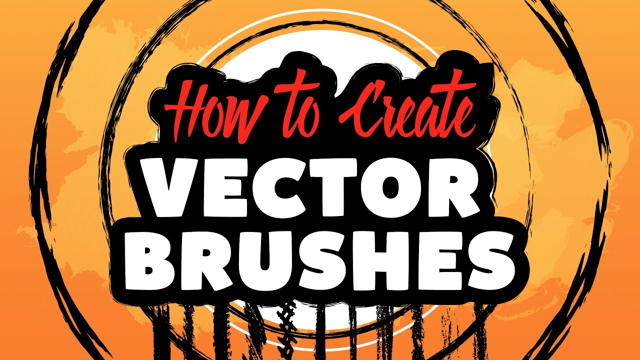 How To Create Vector Brushes in Adobe Illustrator CC