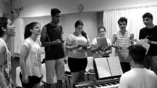 HAIRSPRAY Teenbroadway 2013 - Ensaio com preparador vocal Douglas Tholedo